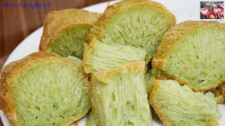 BÁNH BÒ NƯỚNG RỂ TRE - Honey comb cake - Cách làm Bánh bò nướng không cần ủ Men by Vanh Khuyen