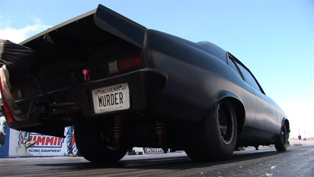 Memphis International Raceway >> MURDER NOVA on 275 Radials - 4.42 @177mph - YouTube