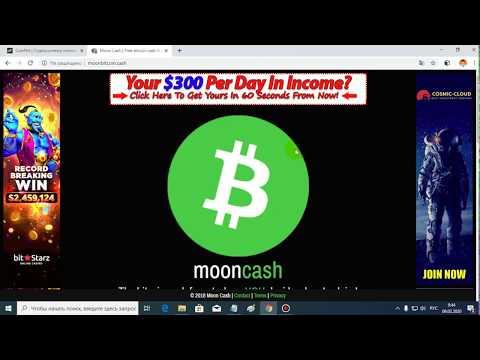 Биткоин кеш кран Moonbitcoin