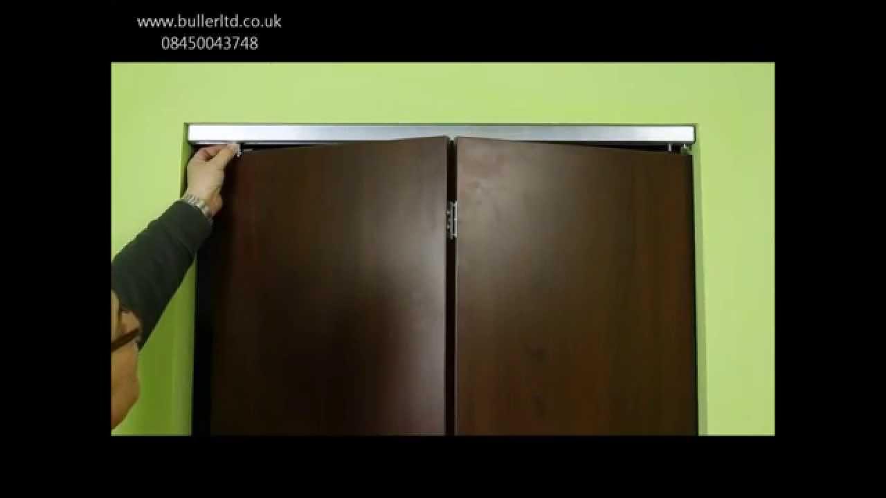 Hercules Plus 25kg Bi folding Door Gear Track Kit- Buller Ltd - YouTube