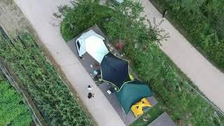 연포분교 캠핑장 드론샷