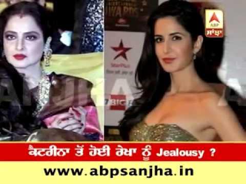 Rekha insecure of Katrina Kaif?