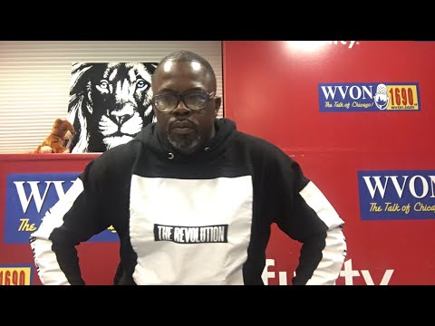 Watch The WVON Morning Show...MONIQUE Aon the Show!