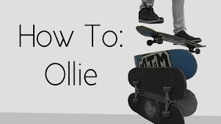 How To: Ollie