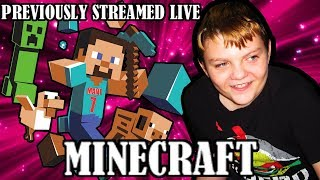 LIVE Part 1 - Minecraft - I CREATED a world called OUTCAST, Let's explore!