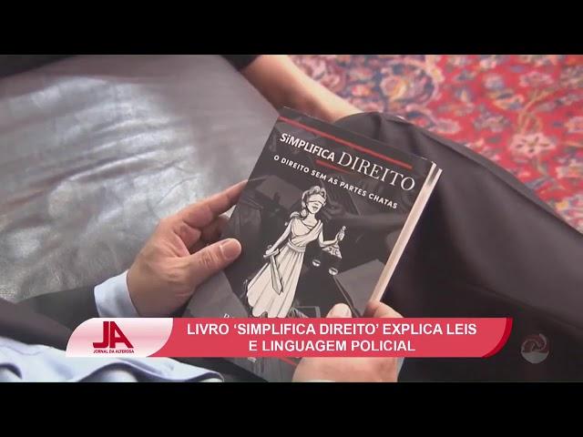Reportagem TV Alterosa Lançamento do Livro Simplifica Direito em BH