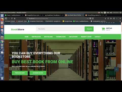 Online Bookshop Website.