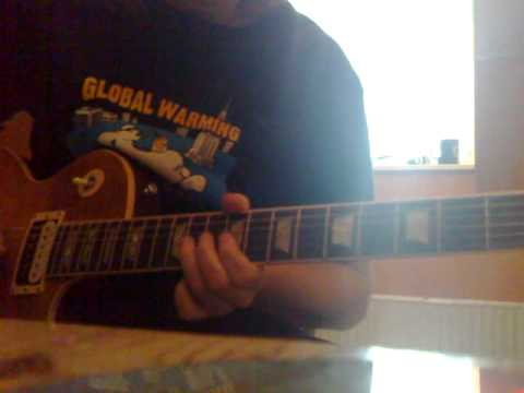 Opeth Reverie/Harlequin Forest guitar cover