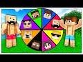 LA RUOTA DELLA FORTUNA DEGLI YOUTUBERS! - Minecraft ITA