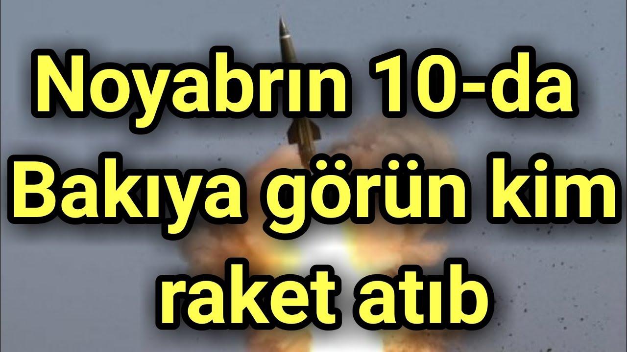 """Noyabrın 10-da Bakıya görün kim raket atıb"" - Rusiyadan sensasion açıqlama"