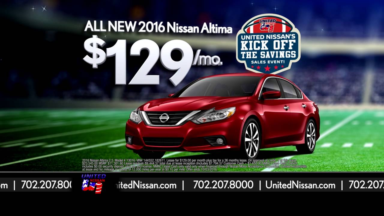 United Nissan - Kick Off The Savings - YouTube