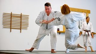 Charles Edwards uses the Japanese martial arts of aikido to better himself as a salesman.