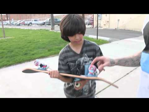 Our first Skateboard for Skateboards for Kids!