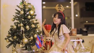 Jenna Norodom Rockin' Around The Christmas Tree Khmer Remix Ft. Kelly and Noya Beat