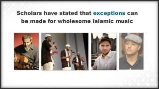 According to Quran and Sunnah Music Allowed In Islam by Imam Ghazali, Ibn Hazm & Imam al-Shawkan