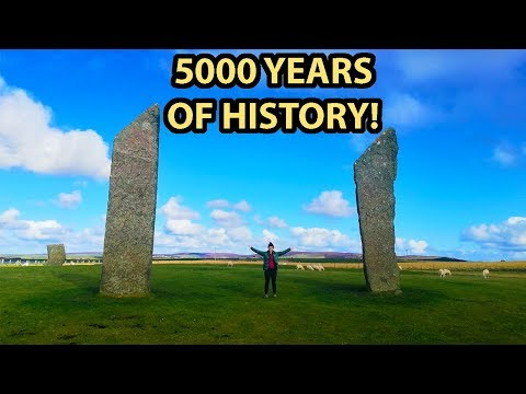 THE ORKNEY ISLANDS TRAVEL GUIDE   5000 Years Of History   Skara Brae