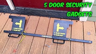5 Door Security Gadgets put to the Test