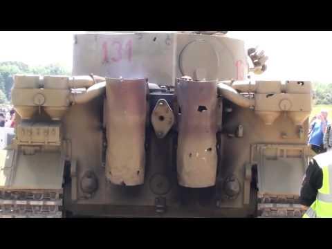Тигр танк звук двигателя майбах