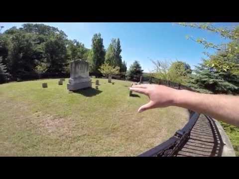 Hidden Cemetery at The New Jersey Vietnam Veterans Memorial Holmdel