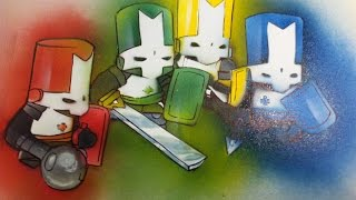 How 2 Paint Favorite Characters Like Castle Crashers