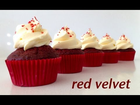 Red Velvet Cupcake Recipe HOW TO COOK THAT Ann Reardon