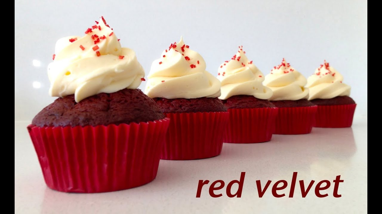 Red Velvet Cupcake Recipe HOW TO COOK THAT Ann Reardon