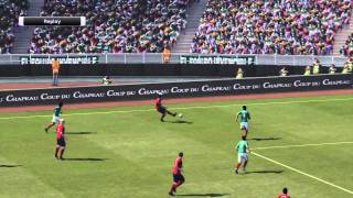 PES 2011 Gameplay (PS3) - USA vs Mexico