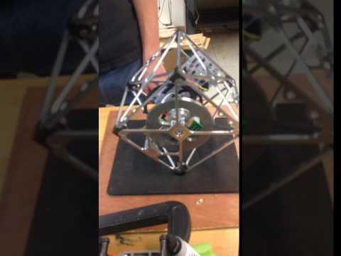 Balancing Cube - Columbia University Engineering Senior Design Project