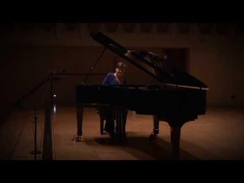 Janina Fialkowska (piano) plays Chopin: two preldues (F sharp minor and A flat major)