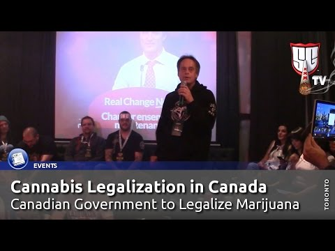 Cannabis Legalization in Canada! Canadian Government to Legalize Marijuana - Smokers Guide TV Canada