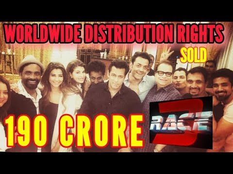RACE 3 WORLDWIDE DISTRIBUTION RIGHTS SOLD FOR 190 CR | SALMAN KHAN | RAMESH TAURANI