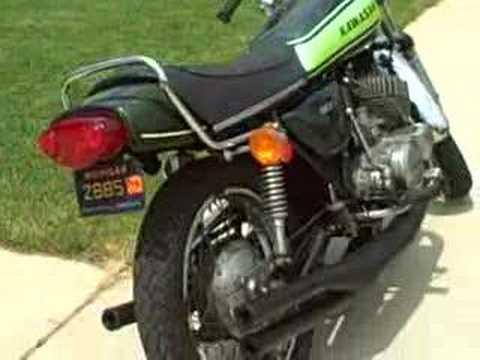 Kawasaki (1973) H1 500 - YouTube