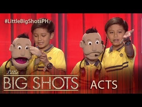 Little Big Shots Philippines: Dwayne | 1O-year-old Ventriloquist