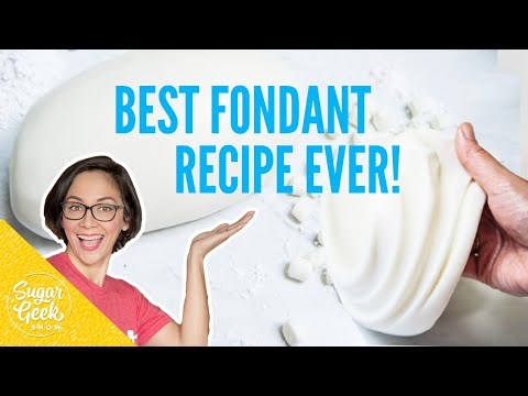 How To Make The Best Fondant Recipe Ever!