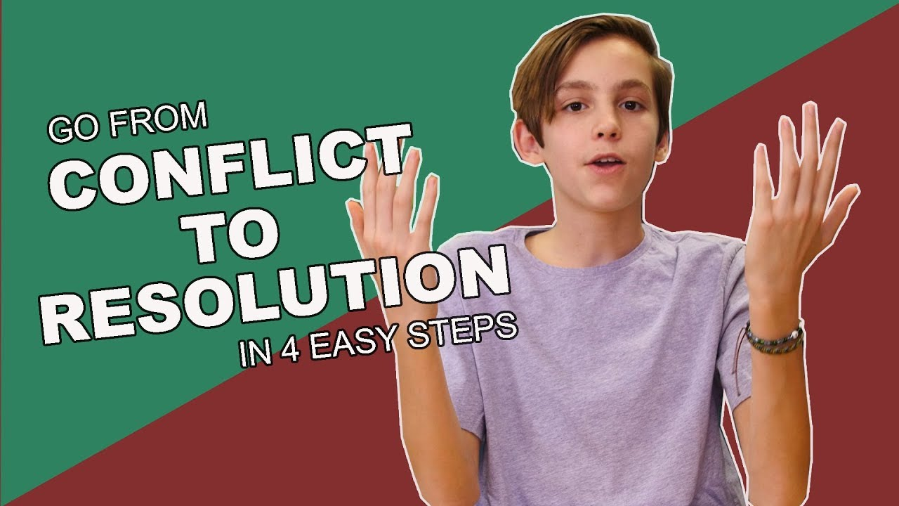 Conflict to Resolution in 4 Steps