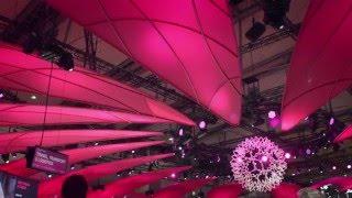 Messestand Telekom - CeBIT 2016
