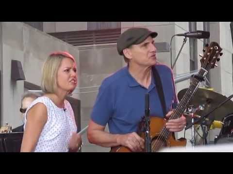 James Taylor - Today Show - Smilin' Face, June...