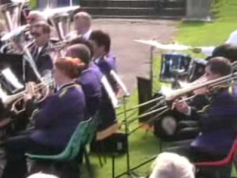 Morecambe Brass Band in Happy Mount Park