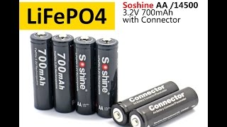 Акумулятор Soshine LiFePO4 3,2 V 14500 (AA). У чому сила, брат?