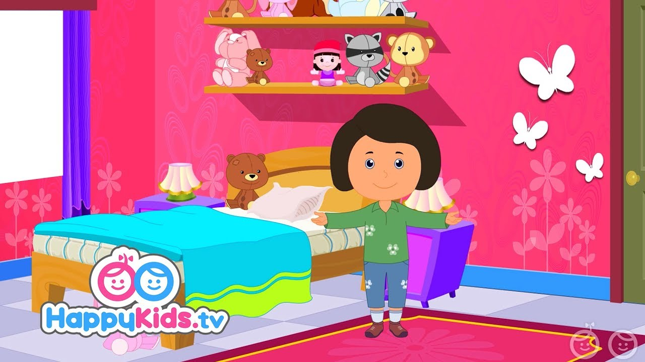 Learn About The Bedroom - Learning Songs Collection For Kids And ...