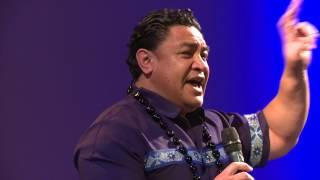 Eroni Clarke at 'Tama Tane Malosi' Promise Keepers Samoan Men's Event