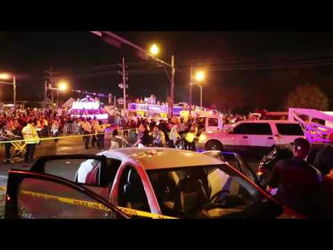 Watch scene where vehicle crashed into Endymion crowd in New Orleans