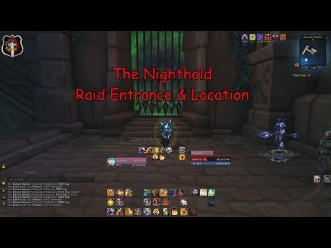 the nighthold raid entrance location world of warcraft youtube. Black Bedroom Furniture Sets. Home Design Ideas