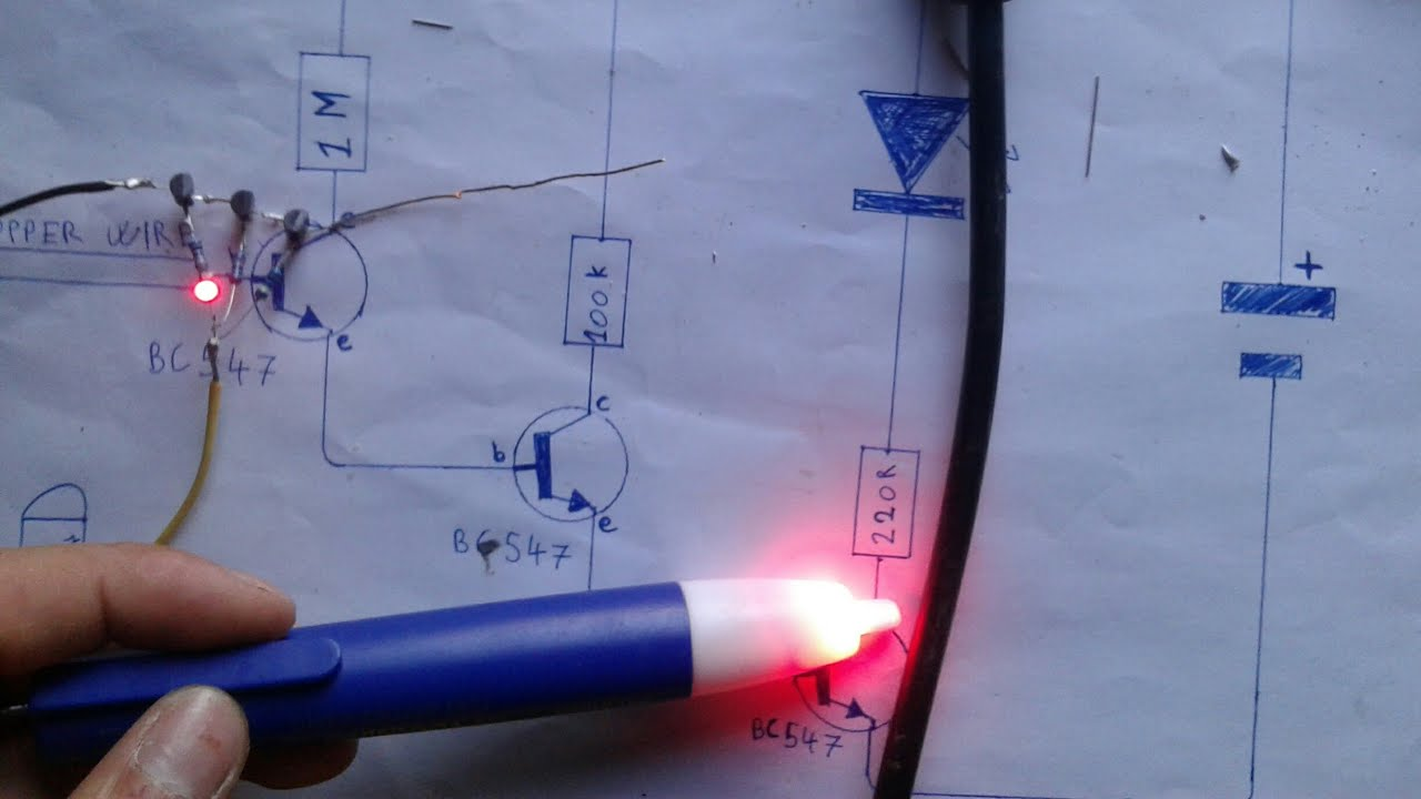 How to Build a Non-contact Voltage Detector Device That is Stroner Than a  Voltage Detector Pen