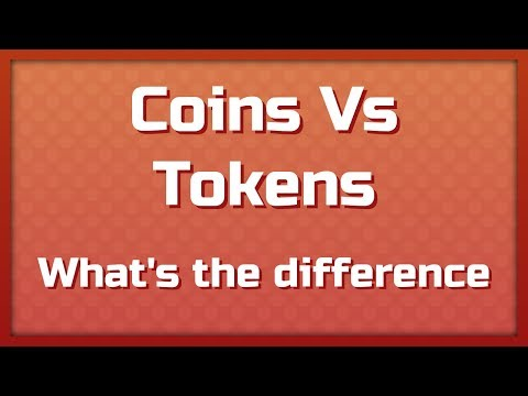Coin Vs Token: What's The Difference?