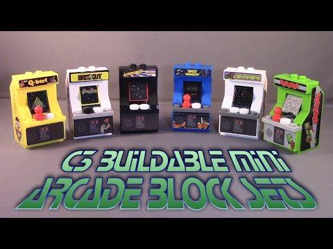 C3 Buildable Mini Arcade Block Sets