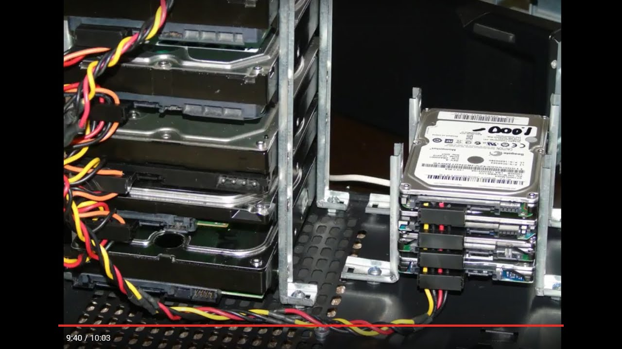 Diy Ssd Or Hard Drive Rack 3 Oo Youtube