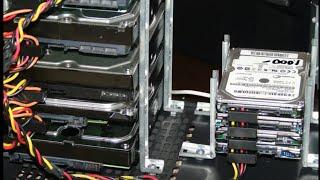 diy ssd or hard-drive rack $3.oo
