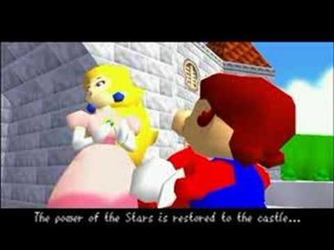 Super Mario 64 (N64) Final Battle + Ending