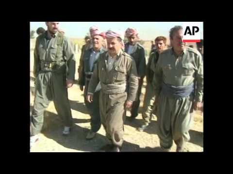 Iraq - KDP troops enter town of Sulaymaniyah